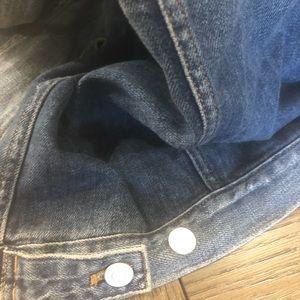 GAP Jackets & Coats - GAP  oversized DistressedJ Jean Jacket